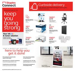 Electronics & Office Supplies offers in the Staples catalogue in Brockton MA ( 2 days left )
