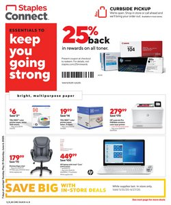 Electronics & Office Supplies offers in the Staples catalogue in Wilkes Barre PA ( Expires tomorrow )