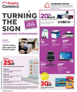 Electronics & Office Supplies offers in the Staples catalogue in Saginaw MI ( 2 days left )