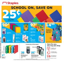 Staples catalog ( 4 days left)
