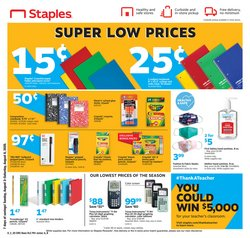 Staples catalogue ( 3 days left )