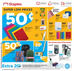 Electronics & Office Supplies offers in the Staples catalogue in San Luis Obispo CA ( Expires tomorrow )