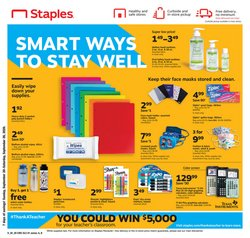 Electronics & Office Supplies offers in the Staples catalogue in Rochester MN ( Expires tomorrow )