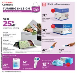 Staples catalogue in New York ( 3 days left )