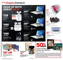 Electronics & Office Supplies offers in the Staples catalogue in Lake Forest CA ( Expires tomorrow )
