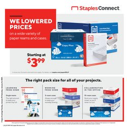 Staples catalogue ( Expires today )
