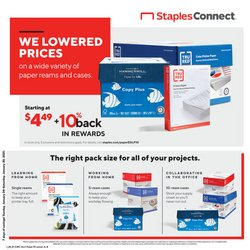 Electronics & Office Supplies offers in the Staples catalogue in Brockton MA ( 3 days left )