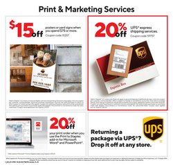 Prints deals in Staples