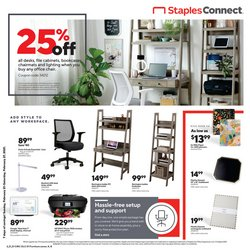 Electronics & Office Supplies offers in the Staples catalogue in Bridgeport CT ( 2 days left )