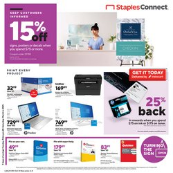 Staples catalog ( 3 days left)