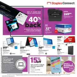 Staples catalogue in New York ( Expired )