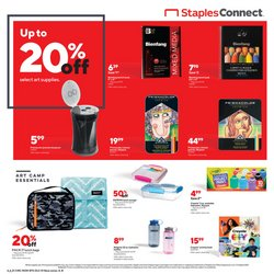 Electronics & Office Supplies deals in the Staples catalog ( Expires today)