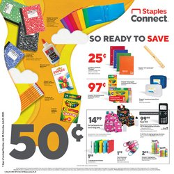 Electronics & Office Supplies deals in the Staples catalog ( 2 days left)