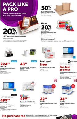 Staples deals in the Staples catalog ( Expires today)