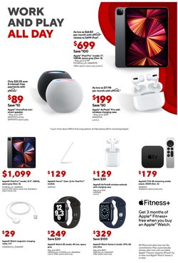 Apple deals in the Staples catalog ( Expires today)