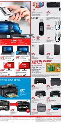 Electronics & Office Supplies deals in the Staples weekly ad in Dallas TX