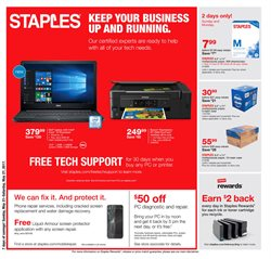 Electronics & Office Supplies deals in the Staples weekly ad in Miami FL