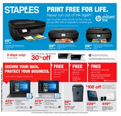 Staples deals in the Los Angeles CA weekly ad