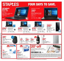 Staples deals in the Atlanta GA weekly ad