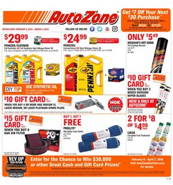 AutoZone deals in the Saint Louis MO weekly ad