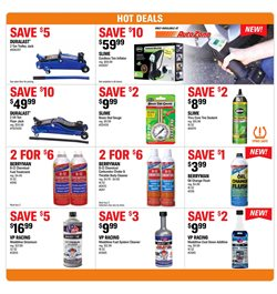 Oil change deals in the AutoZone weekly ad in Van Nuys CA