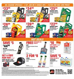 Exhaust deals in the AutoZone weekly ad in Federal Way WA