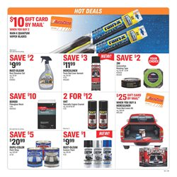 Wipers deals in the AutoZone weekly ad in Knoxville TN