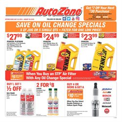 Automotive deals in the AutoZone weekly ad in Federal Way WA