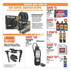 Brakes deals in the AutoZone weekly ad in Kansas City MO