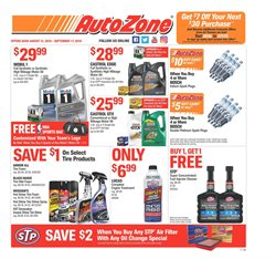 Automotive deals in the AutoZone weekly ad in Kent WA