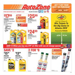 Wipers deals in the AutoZone weekly ad in Poughkeepsie NY