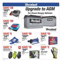 Tires deals in the AutoZone weekly ad in Knoxville TN