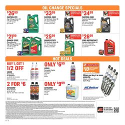 Exhaust deals in the AutoZone weekly ad in Springfield MO
