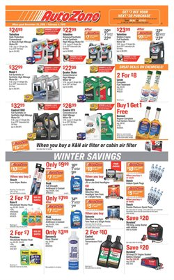 AutoZone deals in the Dallas TX weekly ad