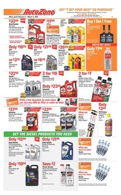 AutoZone deals in the Stone Mountain GA weekly ad