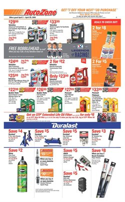 AutoZone deals in the Watsonville CA weekly ad