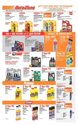 AutoZone deals in the New York weekly ad