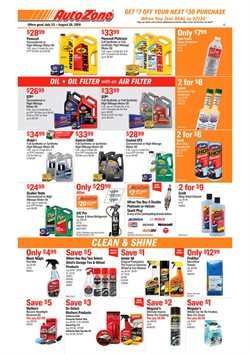 AutoZone deals in the Bell CA weekly ad
