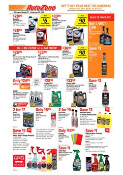 AutoZone deals in the Chicago IL weekly ad
