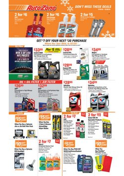 Automotive deals in the AutoZone weekly ad in Covina CA