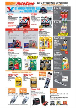 Automotive deals in the AutoZone weekly ad in Dubuque IA