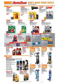 Automotive offers in the AutoZone catalogue in San Francisco CA ( 23 days left )