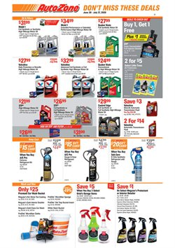 AutoZone catalogue ( 21 days left )
