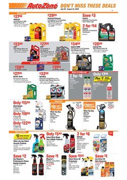 Automotive offers in the AutoZone catalogue in Tempe AZ ( 10 days left )