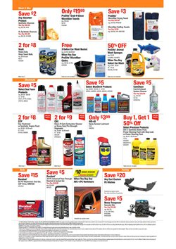 Brakes deals in AutoZone