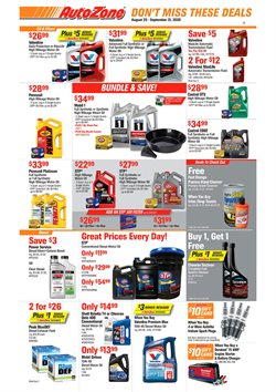 Automotive offers in the AutoZone catalogue in Jefferson City MO ( 2 days left )