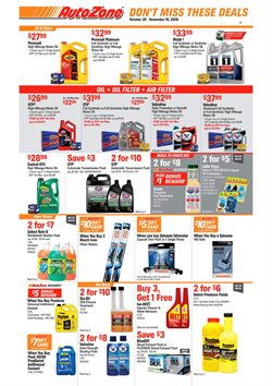 Automotive offers in the AutoZone catalogue in Plant City FL ( 1 day ago )