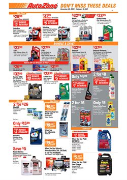 AutoZone catalogue ( 23 days left )
