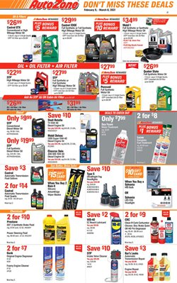 AutoZone catalogue ( 8 days left )