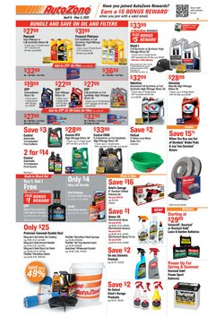 Automotive offers in the AutoZone catalogue in Middletown OH ( 16 days left )